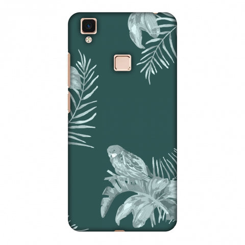 Elements Of Tropical - Teal Slim Hard Shell Case For Vivo V3 Max