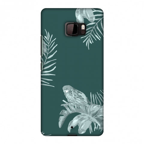 Elements Of Tropical - Teal Slim Hard Shell Case For HTC U Ultra