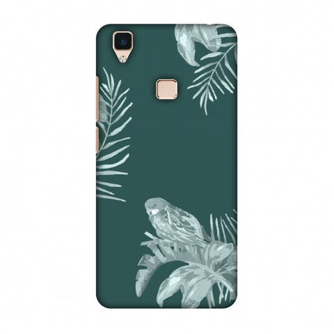 Elements Of Tropical - Teal Slim Hard Shell Case For Vivo V3