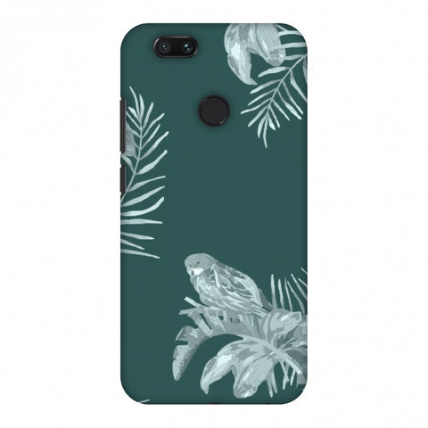 Elements Of Tropical - Teal Slim Hard Shell Case For Xiaomi MI A1-5X