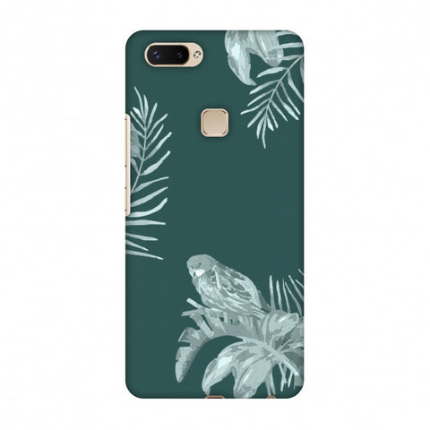 Elements Of Tropical - Teal Slim Hard Shell Case For Vivo X20 Plus