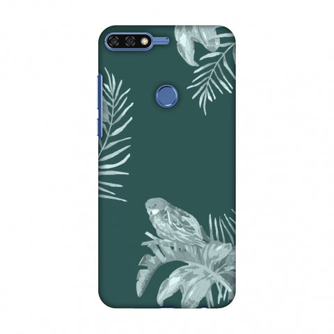 Elements Of Tropical - Teal Slim Hard Shell Case For Huawei Honor 7C