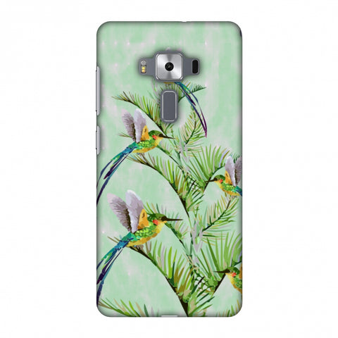 Fight For Top - Green Slim Hard Shell Case For Asus Zenfone 3 Deluxe ZS570KL