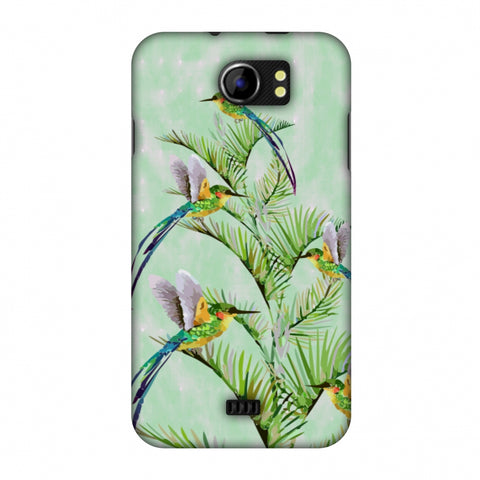 Fight For Top - Green Slim Hard Shell Case For Micromax Canvas 2 A110