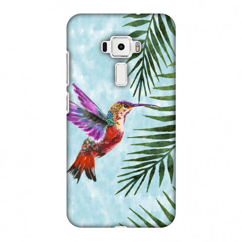 Fly For Home - Bright Blue Slim Hard Shell Case For Asus Zenfone 3 ZE520KL