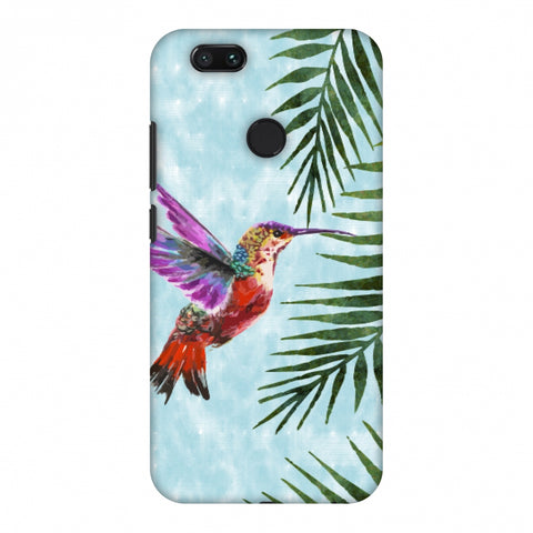 Fly For Home - Bright Blue Slim Hard Shell Case For Xiaomi MI A1-5X