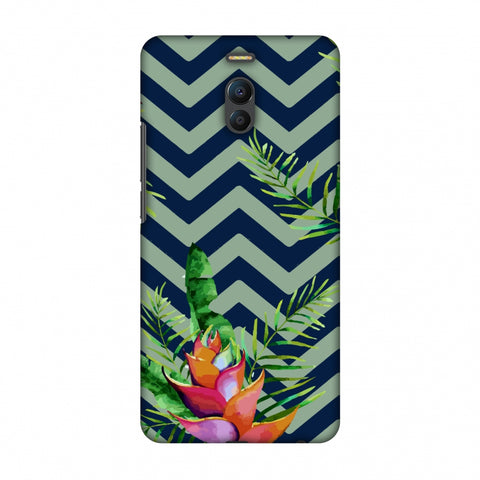 Fruitful Chevron - Blue Slim Hard Shell Case For Meizu Note 6