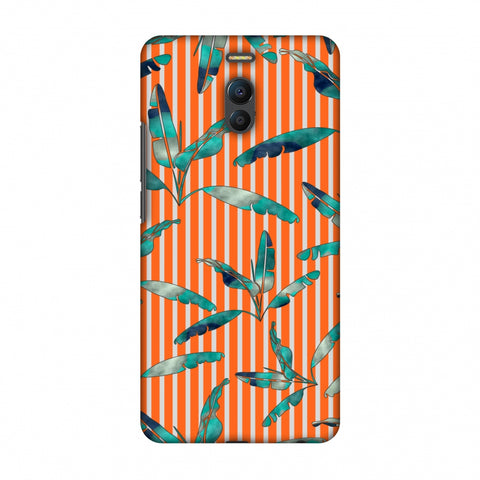 Gradiant Banana Leaves - Orange Slim Hard Shell Case For Meizu Note 6