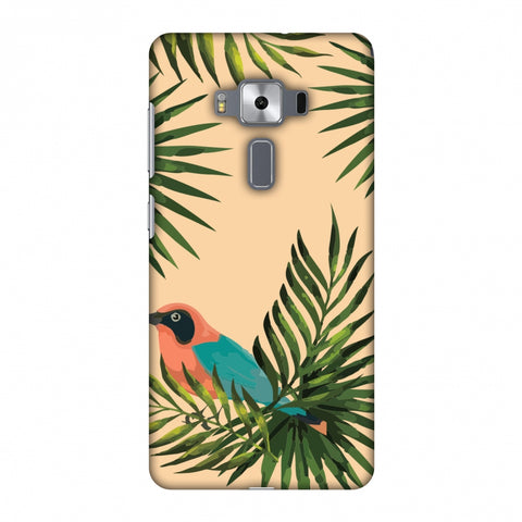 Homely Nature - Beige Slim Hard Shell Case For Asus Zenfone 3 Deluxe ZS570KL
