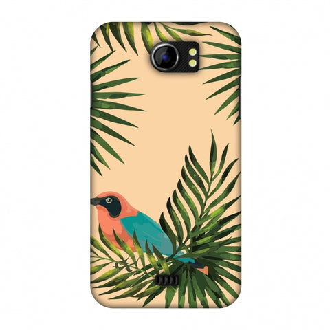 Homely Nature - Beige Slim Hard Shell Case For Micromax Canvas 2 A110