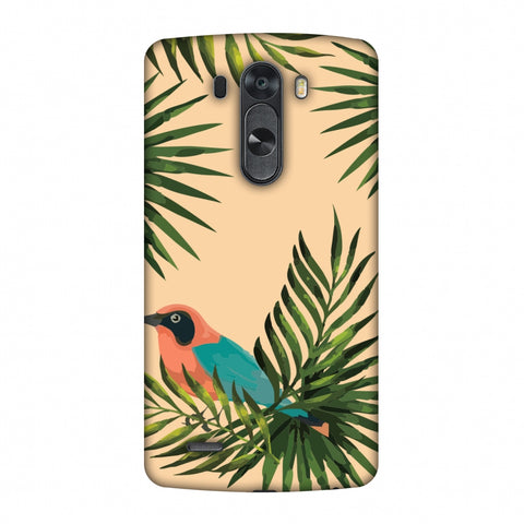 Homely Nature - Beige Slim Hard Shell Case For LG G4