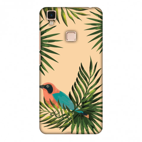 Homely Nature - Beige Slim Hard Shell Case For Vivo V3 Max