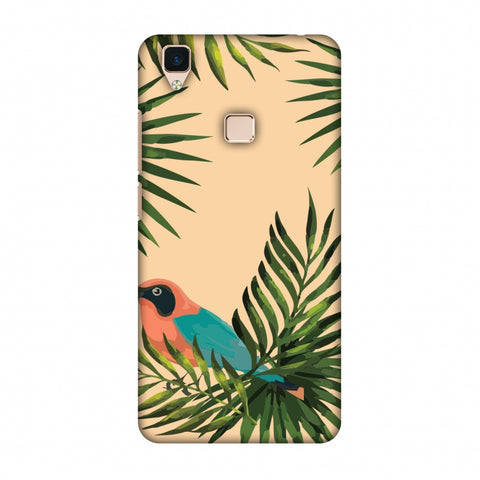 Homely Nature - Beige Slim Hard Shell Case For Vivo V3