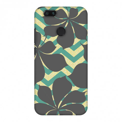 RAndom On Chevron - Yellow And Teal Slim Hard Shell Case For Xiaomi MI A1-5X