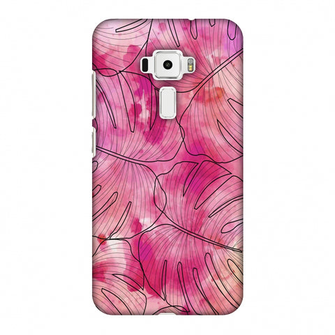 Tropic Paint - Pink Slim Hard Shell Case For Asus Zenfone 3 ZE520KL