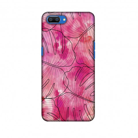 Tropic Paint - Pink Slim Hard Shell Case For Oppo Realme C1