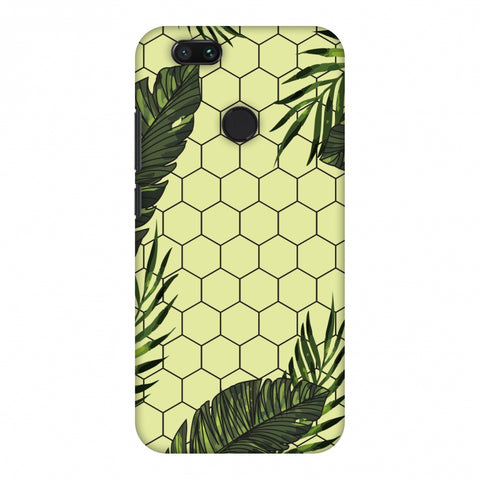 Tropical Leaves - Honey Yellow Slim Hard Shell Case For Xiaomi MI A1-5X