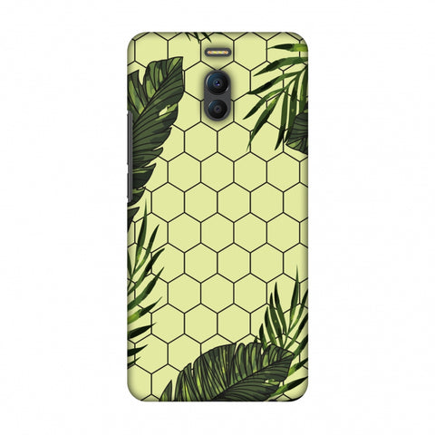 Tropical Leaves - Honey Yellow Slim Hard Shell Case For Meizu Note 6