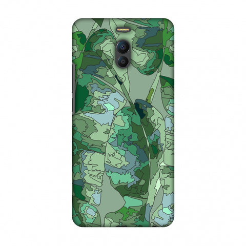 Tropically Pixelated - Teal Slim Hard Shell Case For Meizu Note 6