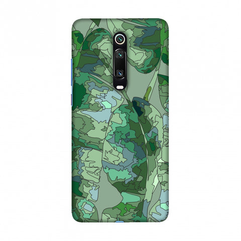 Tropically Pixelated - Teal Slim Hard Shell Case For Redmi K20/K20 Pro