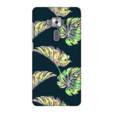 Vivid Tropical - Deep Teal Slim Hard Shell Case For Asus Zenfone 3 Deluxe ZS570KL