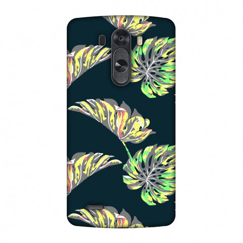 Vivid Tropical - Deep Teal Slim Hard Shell Case For LG G4