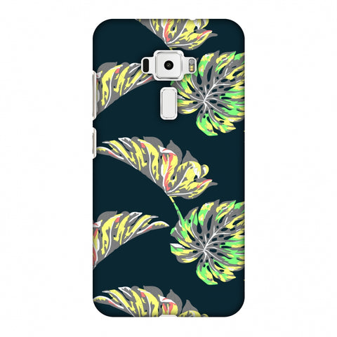 Vivid Tropical - Deep Teal Slim Hard Shell Case For Asus Zenfone 3 ZE520KL