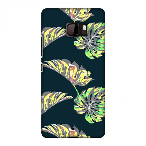 Vivid Tropical - Deep Teal Slim Hard Shell Case For HTC U Ultra