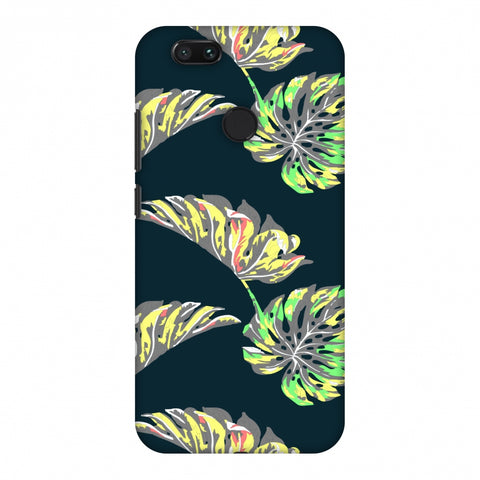 Vivid Tropical - Deep Teal Slim Hard Shell Case For Xiaomi MI A1-5X