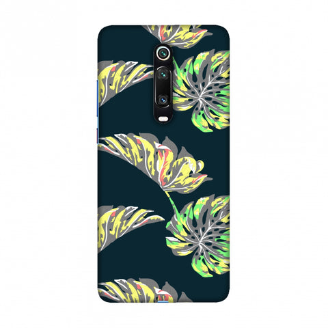 Vivid Tropical - Deep Teal Slim Hard Shell Case For Redmi K20/K20 Pro
