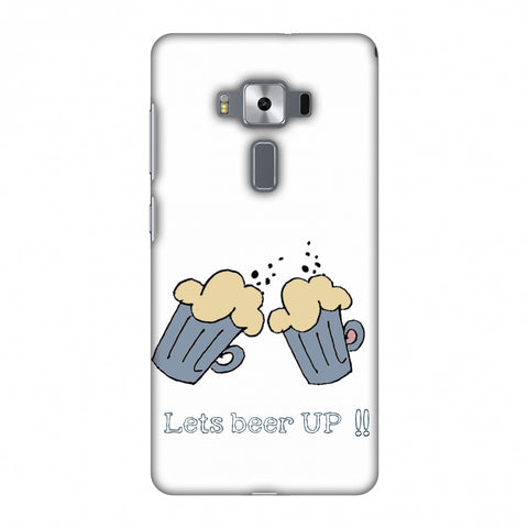 Let's Beer Up !! Slim Hard Shell Case For Asus Zenfone 3 Deluxe ZS570KL