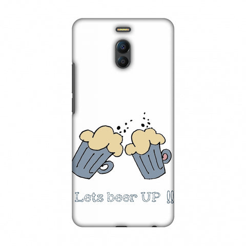 Let's Beer Up !! Slim Hard Shell Case For Meizu Note 6