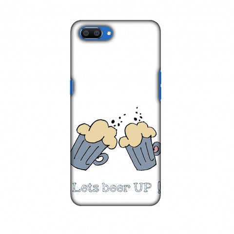Let's Beer Up !! Slim Hard Shell Case For Oppo Realme C1