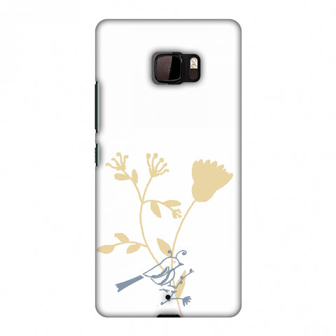 The Doodle Birdie Slim Hard Shell Case For HTC U Ultra