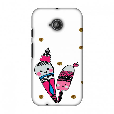 Summer Blush Slim Hard Shell Case For Motorola Moto E 2nd Gen