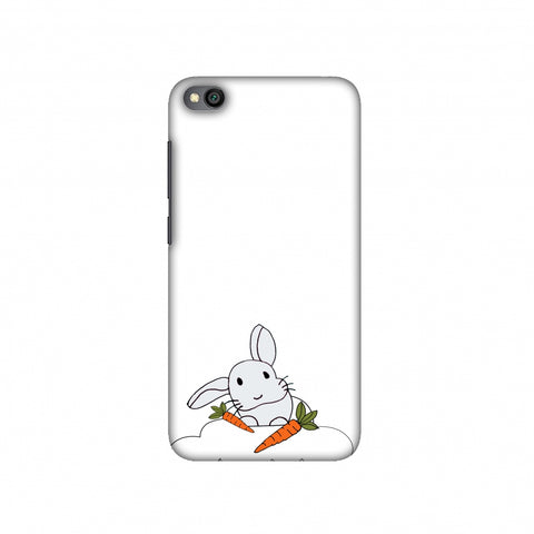 Bunny and his carrots Slim Hard Shell Case For Redmi Go