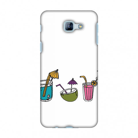Summer Soothers - Transparent Slim Hard Shell Case For Samsung Galaxy A8 2016