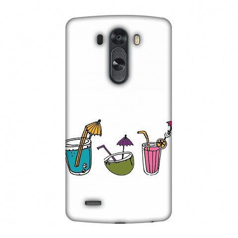 Summer Soothers - Transparent Slim Hard Shell Case For LG G4