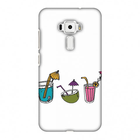 Summer Soothers - Transparent Slim Hard Shell Case For Asus Zenfone 3 ZE520KL