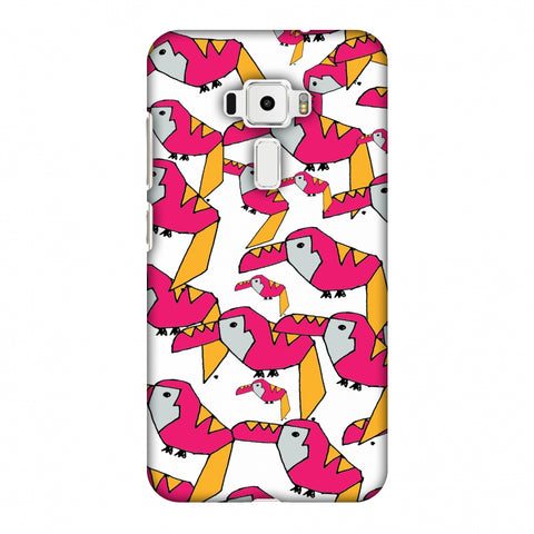 Toucan Doodles - Transparent Slim Hard Shell Case For Asus Zenfone 3 ZE520KL