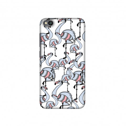 Flamingos Slim Hard Shell Case For Redmi Go