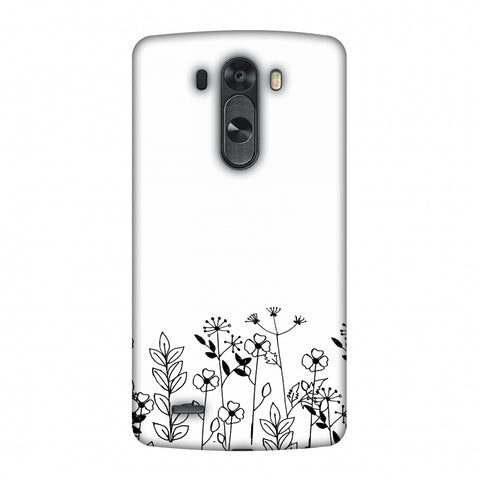 Floral Bunch - Transparent Slim Hard Shell Case For LG G4