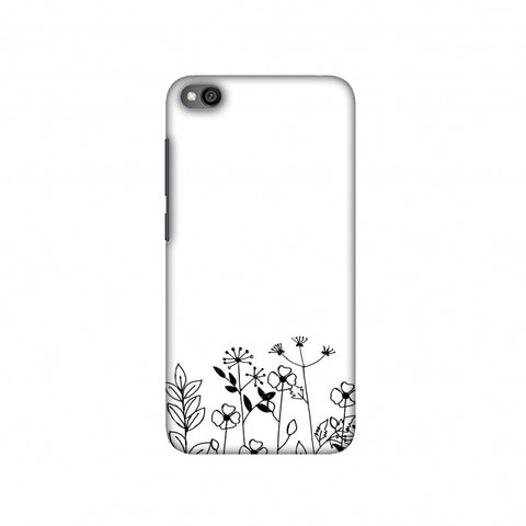 Floral Bunch Slim Hard Shell Case For Redmi Go