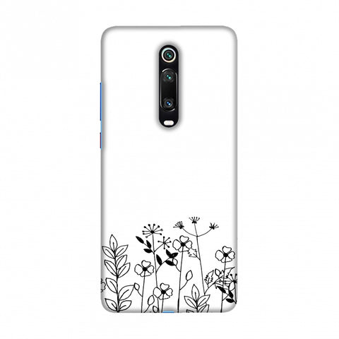 Floral Bunch Slim Hard Shell Case For Redmi K20/K20 Pro