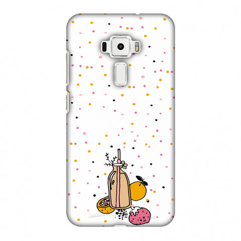 Fruit Affair - Transparent Slim Hard Shell Case For Asus Zenfone 3 ZE520KL