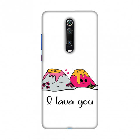 I Lava You Slim Hard Shell Case For Redmi K20/K20 Pro