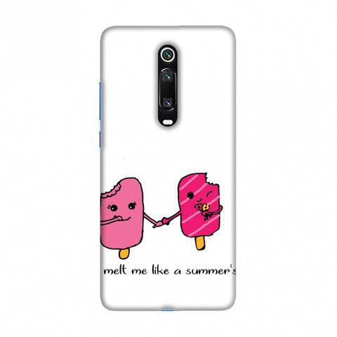 Ice Bar Couple Slim Hard Shell Case For Redmi K20/K20 Pro