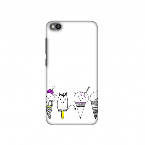 Ice Cream Anyone? Slim Hard Shell Case For Redmi Go