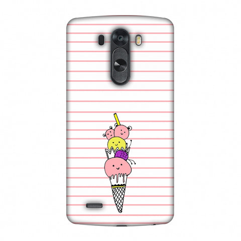 Ice Cream Sisters - Transparent Slim Hard Shell Case For LG G4