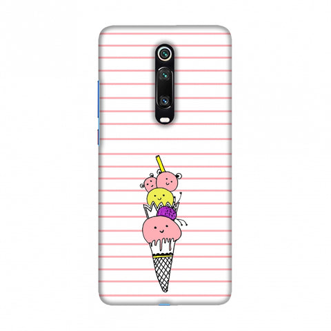 Ice Cream Sisters Slim Hard Shell Case For Redmi K20/K20 Pro